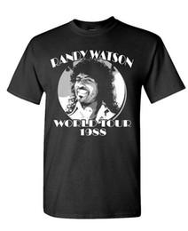 RANDY WATSON WORLD TOUR - Film rétro - Drôle - T-shirt en coton pour hommes T-shirt O-Neck Mode Casual de haute qualité ? partir de fabricateur