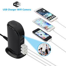 vista remota dvr Sconti Telecamera WiFi 1080P 5 Porta USB Caricatore rapido Cam Videoregistratore wireless App Visualizzazione remota DVR Cam PQ542