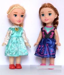 Niedliche kleine mädchen puppen online-2 Styles Snow Queen II-Puppe spielt 16cm PVC Little World Baby-Prinzessin Puppen-Mädchen nette Geschenk-L556