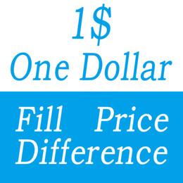 Una differenza di prezzo di riempimento del dollaro per la scatola di EMS di DHL diverso costo aggiuntivo di spedizione diversa ecc da