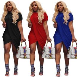 Tasarımcı midi elbise kadınlar Kısa kollu uzun etekler gevşek elbiseler baskı mektup kadın Yaz giysileri S-XL DHL 222 305 cheap xl loose dresses nereden xl gevşek elbiseler tedarikçiler