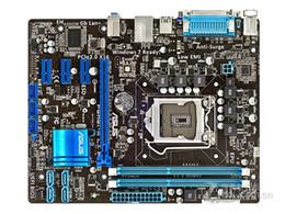 ram ddr3 desktop Sconti Scheda madre desktop ASUS originale per ASUS P8H61-M LX PLUS DDR3 LGA1155 RAM 16G h61 scheda madre Desktop spedizione gratuita