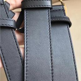 Canada 2019 H L G M boucle blanche luxe métal designer boucle nouvelle ceinture noire en cuir ceinture de ceinture noire cheap g white belts Offre