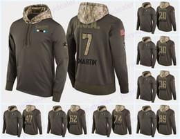 San jose haifisch sweatshirts online-Benutzerdefinierte Herren San Jose Sharks Militär Camo Hood USA Flagge Hoodie Trikots 39 Logan Couture 27 Joonas Donskoi Hockey Hoodies Sweatshirts
