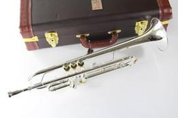 Venta al por mayor- Envío gratis nuevo Stradivarius trompeta LT180s 37 plateado 180S37 desde fabricantes