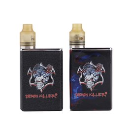 tiny batteries Coupons - 2019 Original Demon Killer Tiny Kit Built-in 800mAh Battery Box Mod Tiny RDA Atomizer Resin Vape Kit Genuine
