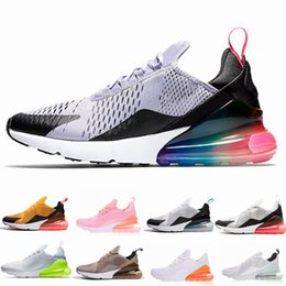 03d5bba8086c 2019 University Red 270 Photo Blue Men Women Running shoes Flair Triple  Black Core white Trainer Sports Medium Olive 270s Sneakers 36-45