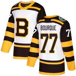 bourque trikot Rabatt Winter-Klassiker im Ruhestand 2019 Boston Bruins Ray Bourque Eishockeytrikots Herren Billig # 77 Ray Bourque Genähte Hemden S-XXXL
