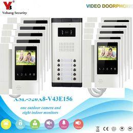 telefone 4.3 Desconto Yobang Segurança Com Fio de 4.3