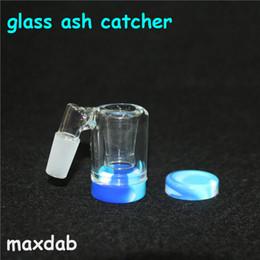 2019 улавливатель золы рециркуляции золы Glass Reclaim Catcher ручное изготовление Catcaher и 5 мл силиконовые восковые контейнеры для стеклянного бонга