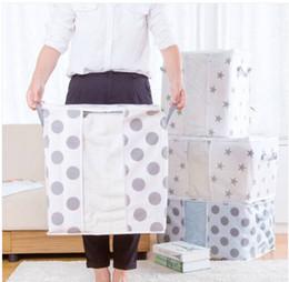 armário organizador caixas Desconto Super adorável Super Valor Saco De Armazenamento Dobrável Roupas Cobertor Colcha Closet Camisola Organizador Caixa de Bolsas