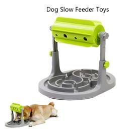 2019 frisbee di plastica animale domestico Il cane trattato educatore alimentatore educativo gioca i giocattoli interattivi il gioco di addestramento di IQ Toy Anti Choke più lento ciotola dell'alimentatore