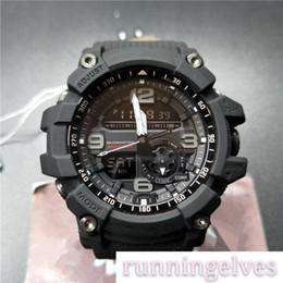 Relógios de luxo pulseira de borracha verde Wholedale de pulso G Estilo Quzrtz Esporte Mens LED digital ao ar livre de Fornecedores de silicone de qualidade
