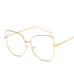 552e0905a20 Cat Eye Glasses Frame Women Transparent HD Lenses Eyeglasses Female Clear  Lens Glasses Optical Cateyes Eyewear