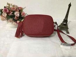 2019 Новая женская модная сумка Известный бренд Дизайнерская сумка через плечо Кисточка Soho Сумки Женская кисточка Роскошная женская сумка от