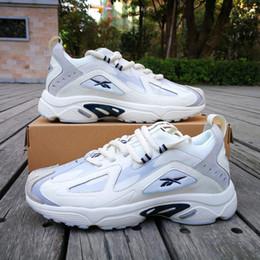 Caja dmx online-De calidad superior Reebok DMX 1200 Running Shoes para mujer para hombre 2019 nuevo clásico Reebok DMX 1200s zapatos de diseño con caja original tamaño 36-45