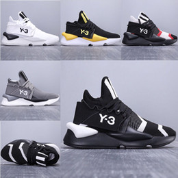 e34028ac9 New Fashion Luxury Designer Y-3 Kaiwa Chunky Men Running Shoes Luxurious Y3  Boots Sports Walking Breathable Multicolor Jogging Sneakers