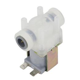 2019 produtos químicos laranja DC 12V elétrica válvula solenóide magnético Pressão normalmente fechado interruptor de válvula solenóide Válvula de Entrada de Água Entrada de ar Fluxo