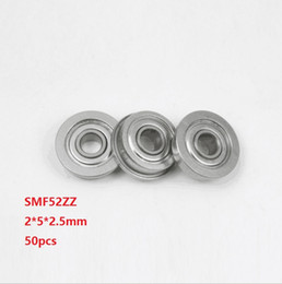 3x6x2.5 mm FLANGED 440c Stainless Metal Shielded Ball Bearings 10pcs SMF63zz