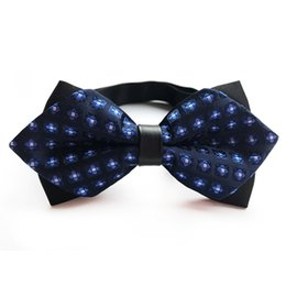 Bowtie Men Formal Cravatta Boy Fashion Business Wedding Bow Tie Abito maschile Camicia Krawatte Legame Regalo di Capodanno Dorpship Hot da