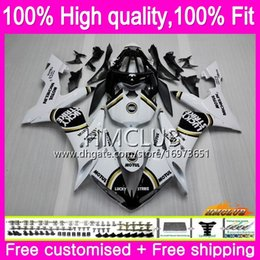 Yamaha grève chance carénages en Ligne-Injection YAMAHA YZF R 1 YZF1000 YZF 1000 YZF1000 04 06 85HM.4 YZF R1 YZFR1 YZFR1 04 05 06 2004 2005 2006 OEM carénages Lucky Strike