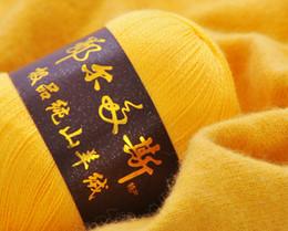 Tricot de laine de Cachemire super doux de luxe tissant la laine de Crocheting en laine Cole ? partir de fabricateur