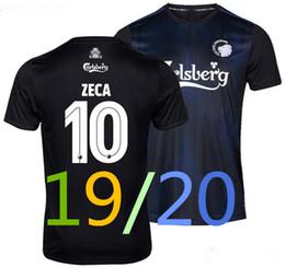 2019 c uniforme nuevo F C Copenhagen 19 20 camiseta de fútbol casa negro gris azul Away 10 ZECA 2019 2020 camiseta de fútbol uniforme c uniforme baratos