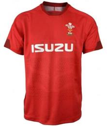 Argentina Camiseta 2019 2020 de Gales, camiseta de casa, camiseta de rugby nueva, camiseta de rugby de Gales, camiseta roja para hombre, talla S - 3XL cheap red man shirts Suministro