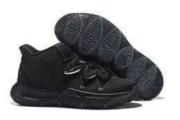 Argentina 2019 Con la caja Envío Gratis Nuevo Kyrie 5 Black Magic zapatos al aire libre para la venta de calidad superior Kyrie Irving tienda para hombre Deportes Kyrie 5 zapatillas de deporte tamaño supplier sports shoes stores Suministro