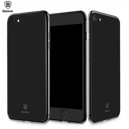 baseus phone case Coupons - Baseus 4.7 inch Ultra Thin Transparent Soft Protective Dustproof Mobile Phone Back Case Cover for iPhone 7