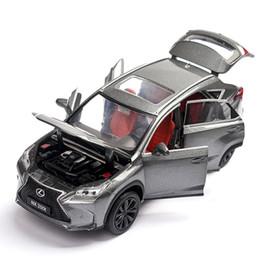 3 Styles De Voiture Modèle 1:32 Lexus Nx200t Alliage De Voiture Jouets Pour Enfants Métal Découpées Sous Pression Véhicule Enfants Jouets Pull Back Sound Light J190525 ? partir de fabricateur