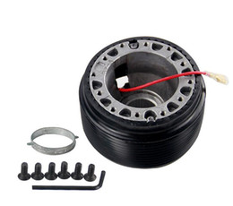 Adaptador de direção on-line-Universal Racing Hub Volante Adaptador Boss Kit para Volkswagen VW Golf MK3