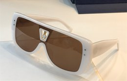 Avvolgere occhiali da sole online-Occhiali da sole di design da donna di lusso 0064 Plank Classic Pilot wrap Occhiali da sole Retro generoso Occhiali UV400 Protezione Vieni con custodia