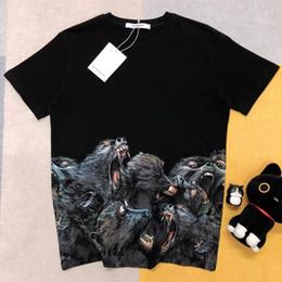 2019 original camisetas Designer de luxo casual mens T-shirts 3D impressão detalhe perfeito processamento original de algodão personalizado tecido costurein tees de verão respirável original camisetas barato