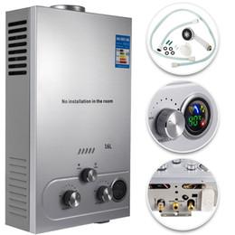 16L Propangas LPG Digital Control Heißwasserbereiter 16L-LPG Hauptkörper Erdgaswarmwasserbereiter von Fabrikanten