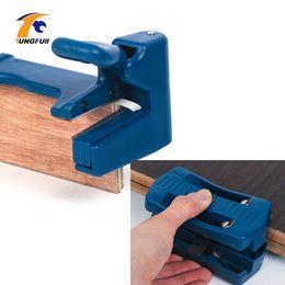 Doppelkantenband online-Double Edge Trimmer Banderoliermaschine Holzbearbeitung Kantenanleimmaschine PVC Band End Cutter Carpenter Hardware-Tools