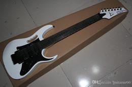2019 fare chitarre trasporto libero 2019 il Giappone ha fatto 7 Archi JEM 7V chitarra, Jumbo Fret Wire, abalone Vite Inaly bianco chitarra elettrica sconti fare chitarre