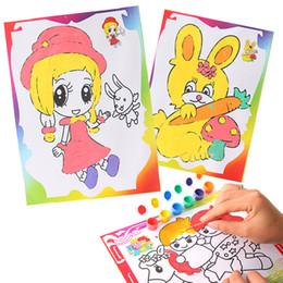 ba96ef8ca6dd5 Ücretsiz kargo Türük çocuk oyuncak Yaratıcı Suluboya resim Suit Graffiti  Çocuk oyuncak Büyük suluboya Pigment artı çizim kağıdı