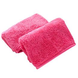 baby rosa badetücher Rabatt 40 * 18 cm Mikrofaser Make-up Entferner Handtuch Wiederverwendbare Magie Make-up Entferner Tücher Gesichtsreinigungstücher Tuch B11