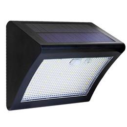 2019 panel led de modo Luces LED solares al aire libre PIR Sensor de movimiento LightSolar Lámpara impermeable Panel solar 3 modos Detección automática para jardín Patio rebajas panel led de modo