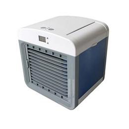 Conveniente Ventilador Do Refrigerador De Ar Portátil Digital Umidificador de Ar Condicionado Espaço Fácil Legal Purifica Ventilador De Ar De Refrigeração para Home Office car livre sh de