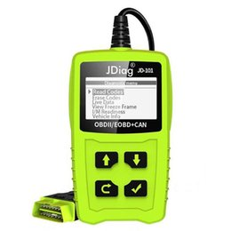 auto obd reader Promo Codes - JDiag Code Readers JD101 Reading and Cleaning Code Auto OBD Diagnostic Tool with Multi-Functions Free Ship