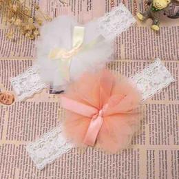 2019 elastisches spitzenband für stirnbänder Schöne spitze blume headwear niedlichen elastischen stirnband für säuglingskinder baby mädchen süße band bogen kopfschmuck haarschmuck günstig elastisches spitzenband für stirnbänder