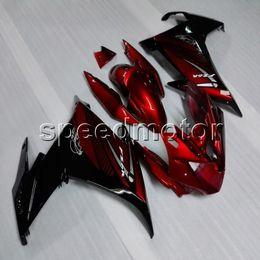 2019 carimbo preto yamaha fz6r Presentes + Parafusos preto vermelho carenagem da motocicleta ABS para yamaha fz6 fz6r 2009-2010 body kit painéis da motocicleta desconto carimbo preto yamaha fz6r