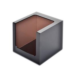Scatole quadrate acriliche online-Scatola per i tessuti in acrilico alla moda, supporto per la conservazione dei tessuti, dispenser quadrato