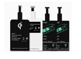 Nuevo cargador inalámbrico Qi cargador receptor módulo adaptador de carga de la etiqueta engomada para el iphone x 7 5 5C 5S 6 6 s plus para Android iphone universal desde fabricantes