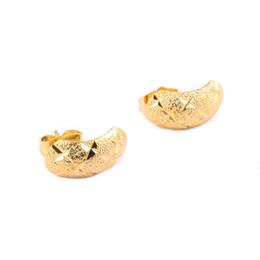 Nouveau Ethiopian African Stud Boucles D'oreilles Pour Les Filles Femmes 24K Or Couleur Stud Boucles D'oreilles Filles Boucles D'oreilles Bijoux ? partir de fabricateur