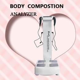 Preços de escala on-line-Mais recente baixo preço corpo elementos análise balanças manuais de beleza cuidados de perda de peso corpo composição analisador
