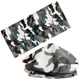 7c1722643234c scarf mask girl 2019 - Multi Wear Scarf Women Men Tube Shape Polyester  Outdoor Camouflage Neck