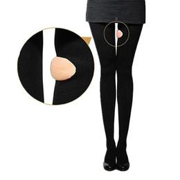 2019 corpo rigido stretto Collant a compressione Donna 980D Pantaloni dimagranti sexy Gamba slim Calza aderente Controllo stretto Mutandine Body Shaper Nero Nudo S-XL corpo rigido stretto economici